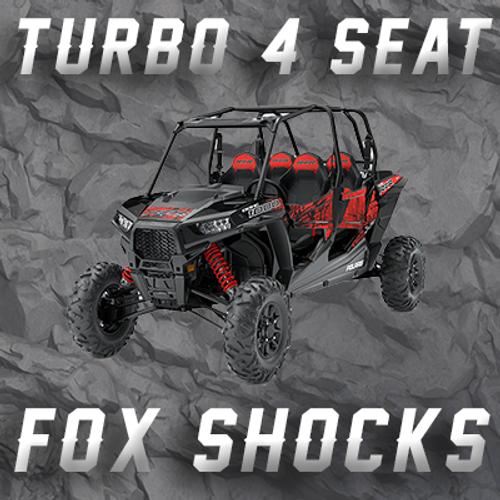 RZR TURBO - 4 SEATER W/ FOX SHOCKS TENDER SPRINGS