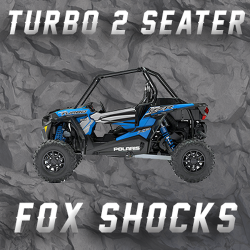 RZR TURBO - 2 SEATER W/ FOX ONLY TENDER SPRINGS