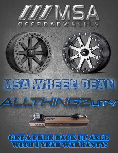 All Things UTV Drive Shaft 14-19 RZR 1000XP 2 Seater - All Thingz UTV