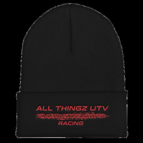 All Thingz UTV Racing Beanie (red)