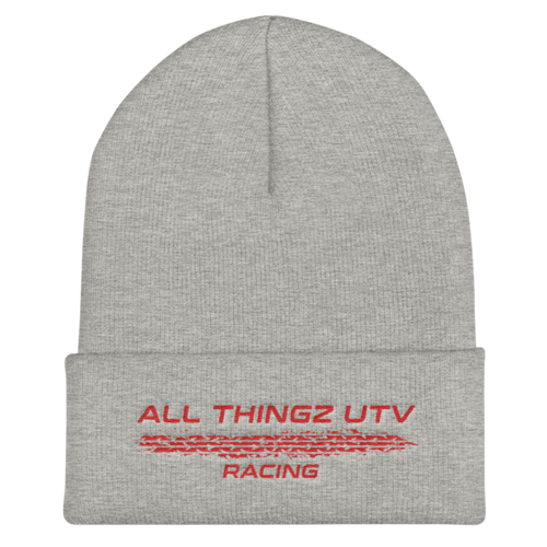 All Thingz UTV Racing Beanie (red)