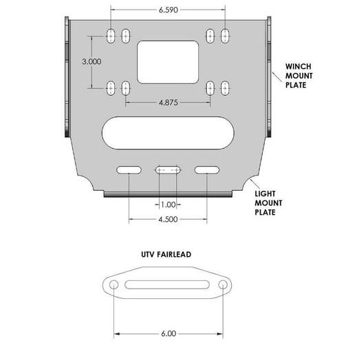 Defender HD Front Bumper, Honda® Talon 1000R/X