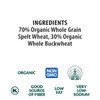 Spelt & Buckwheat Gemelli, Organic, 100% Whole Grain