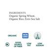 Wheat & Rice Udon, Organic