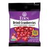 Dried Cranberries, Organic Pocket Snacks - 1 oz