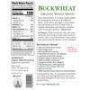Buckwheat, Organic - 16 oz