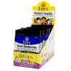 Dried Wild Blueberries Pocket Snacks, Organic - 12 pack