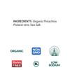 Pistachios, Organic - 1 lb