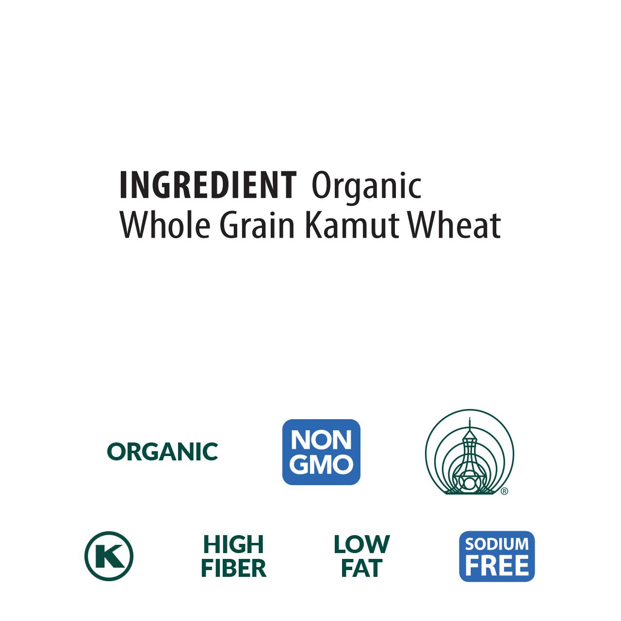 Kamut® Spirals, Organic, 100% Whole Grain