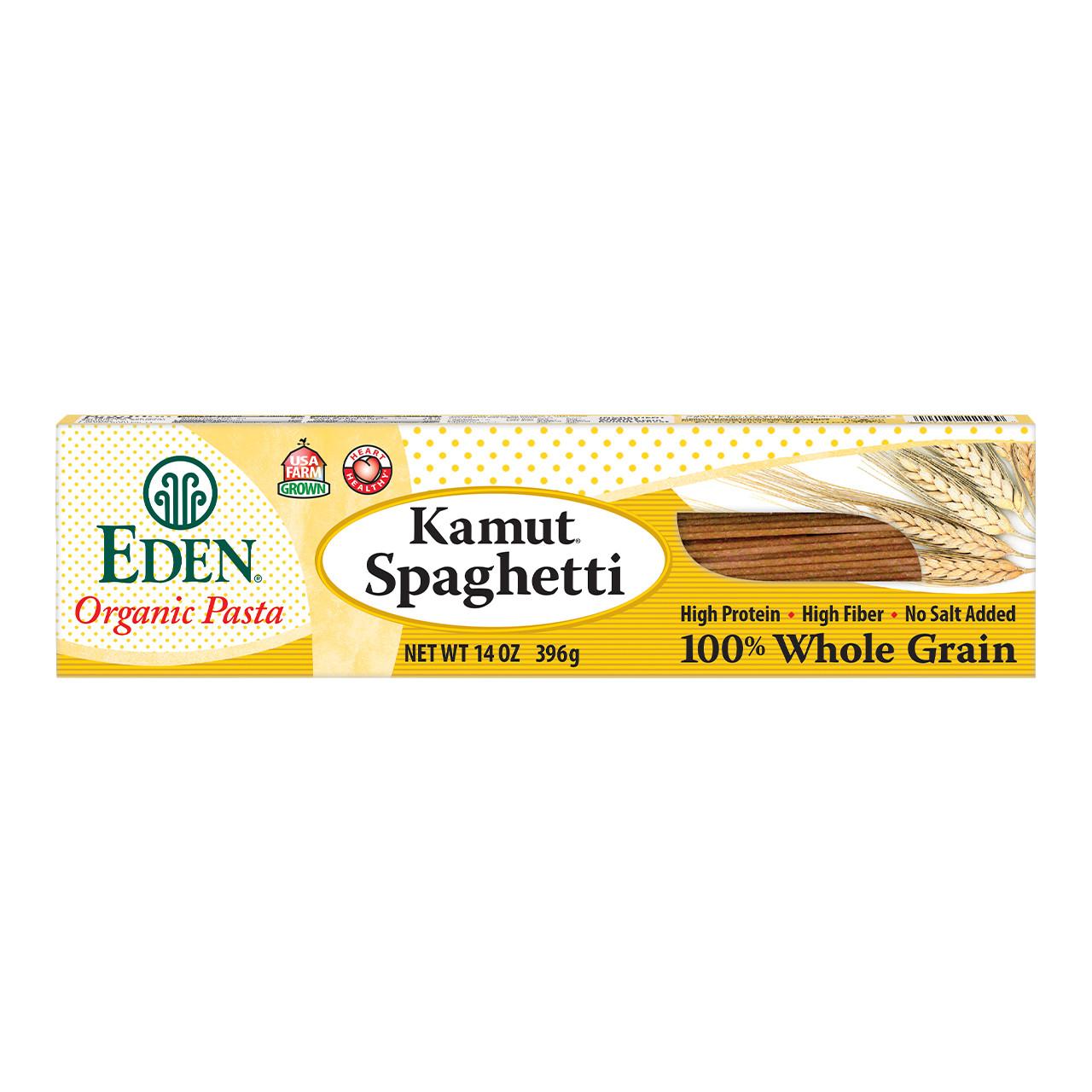 Kamut® Spaghetti, 100% Whole Grain, Organic