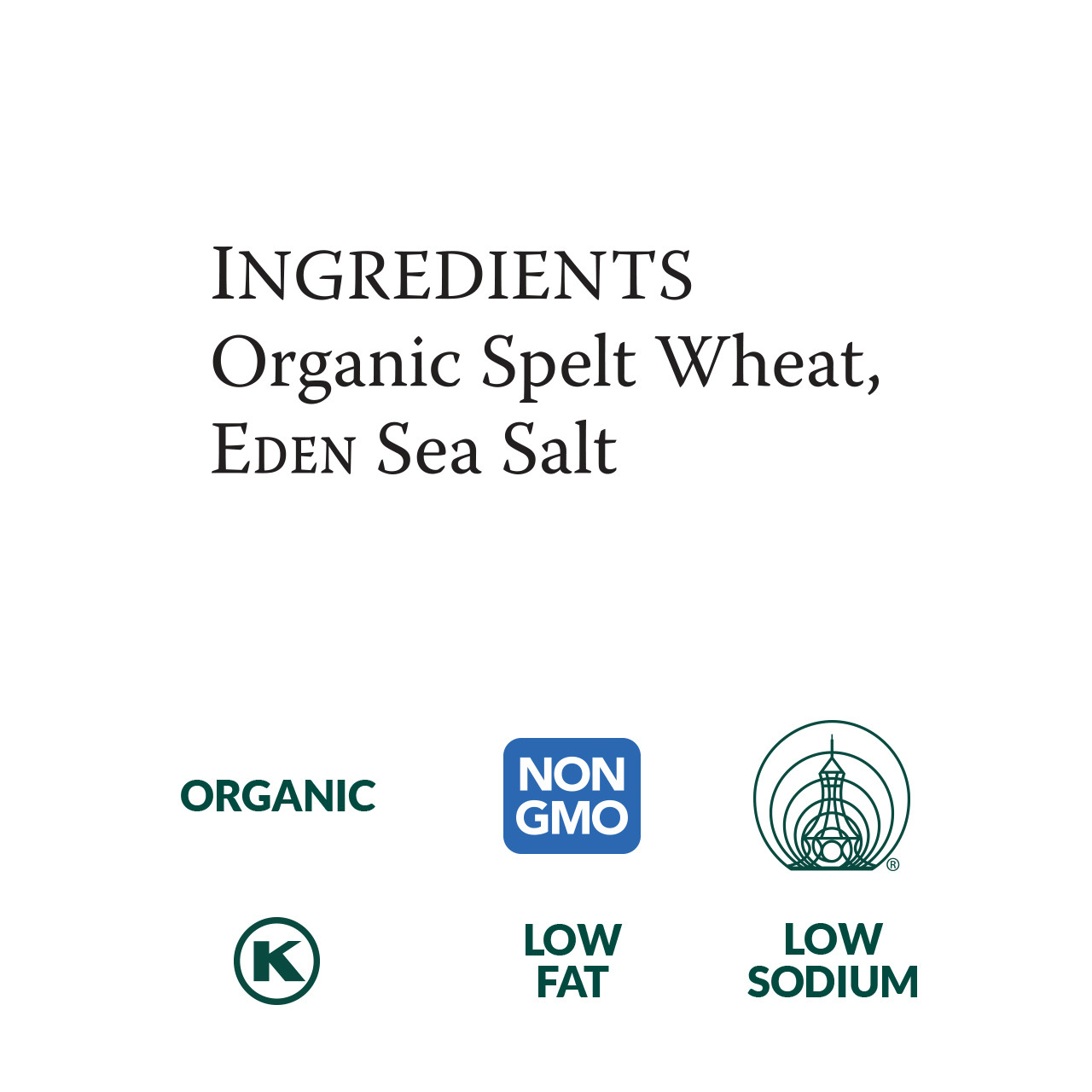 Spelt Udon, Organic