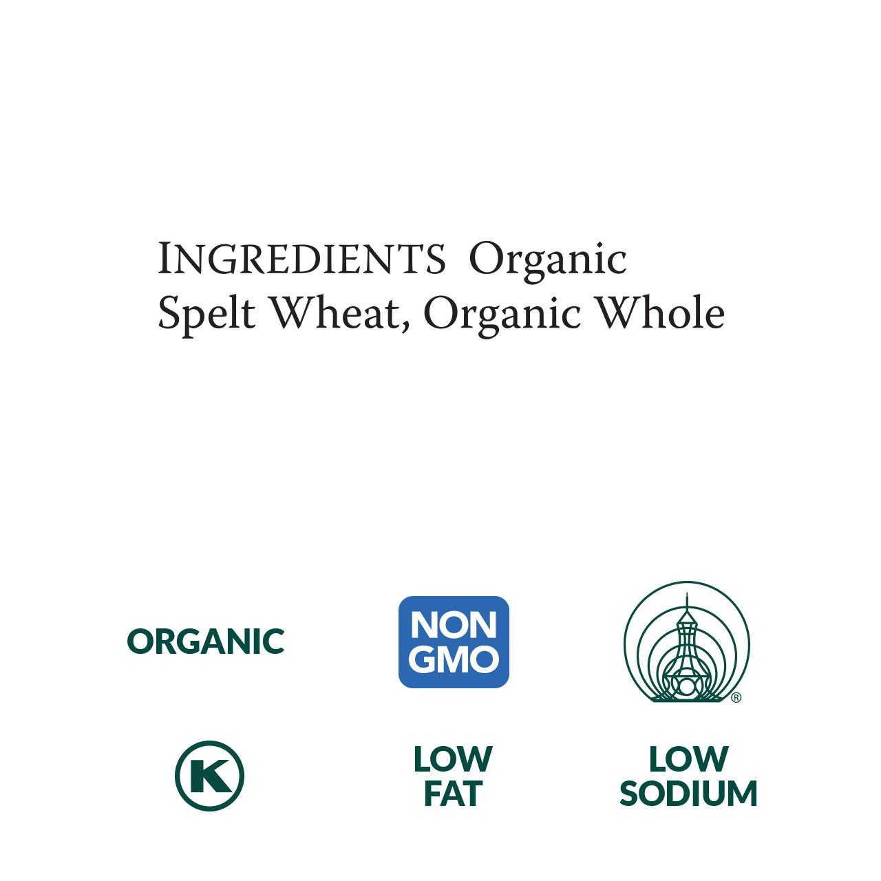 Spelt Soba, Organic