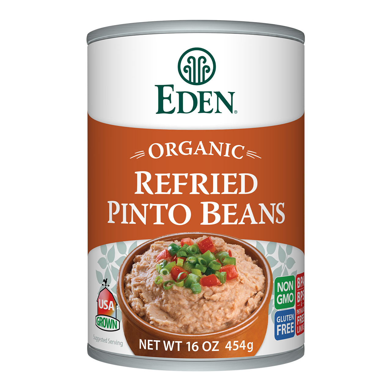 Refried Pinto Beans, organic