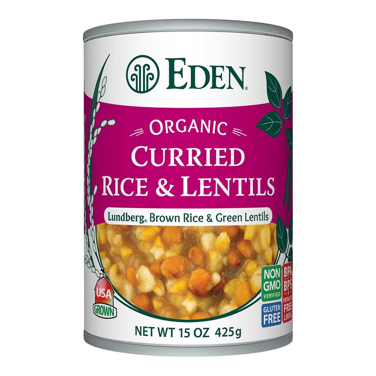Curried Rice & Lentils, Organic