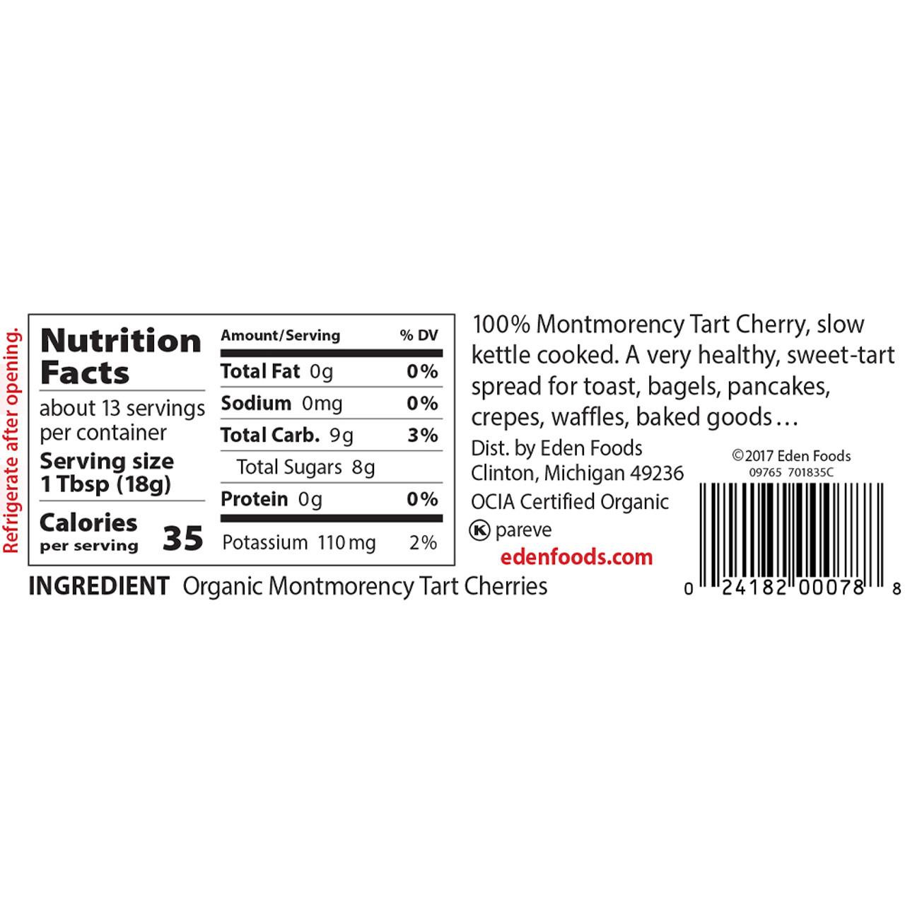Cherry Butter, Organic