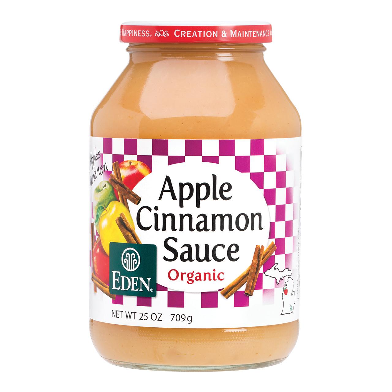 Cinnamon Apple Sauce, Organic