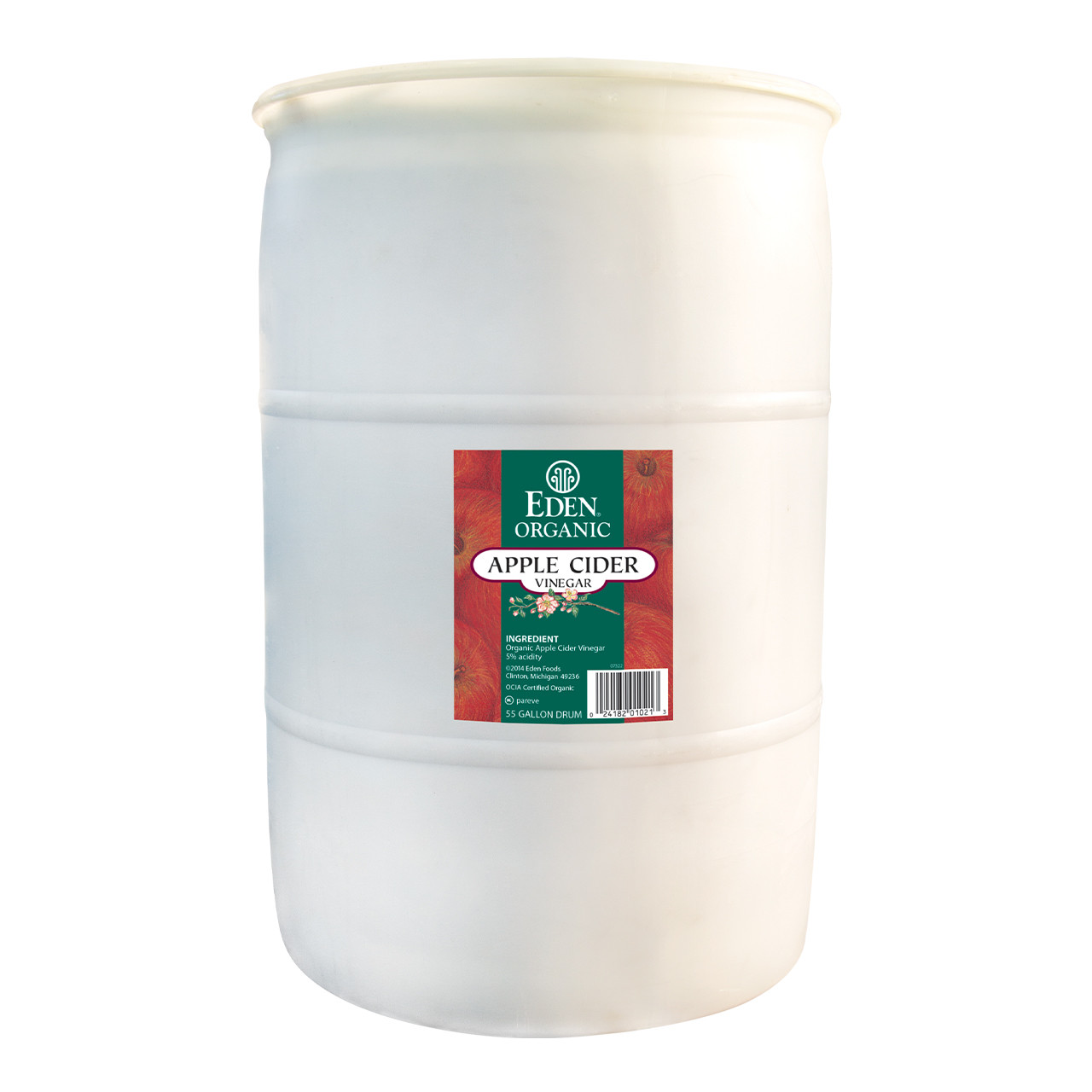 Apple Cider Vinegar, Organic - 55 gal