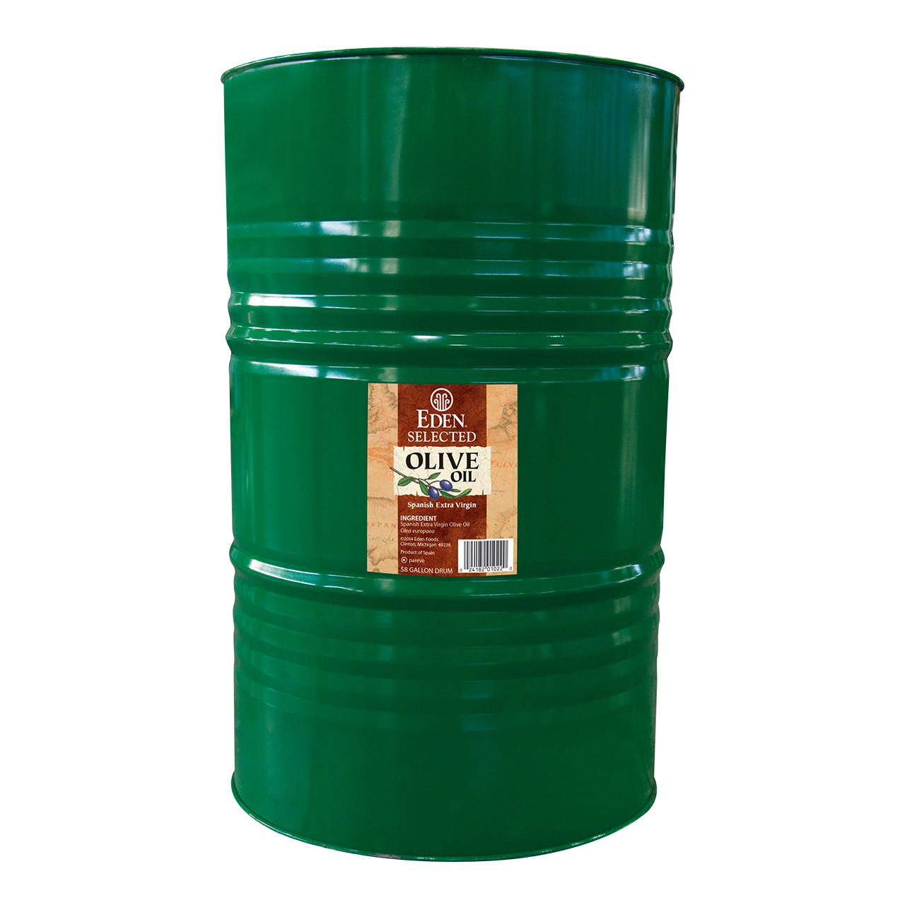 Olive Oil, Extra Virgin, Spanish - 58 gal