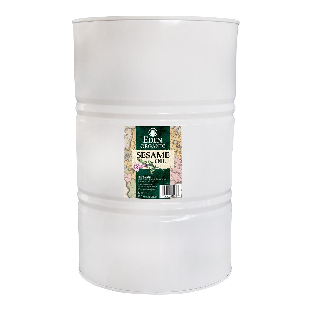 Sesame Oil - Extra Virgin, Organic - 55 gal