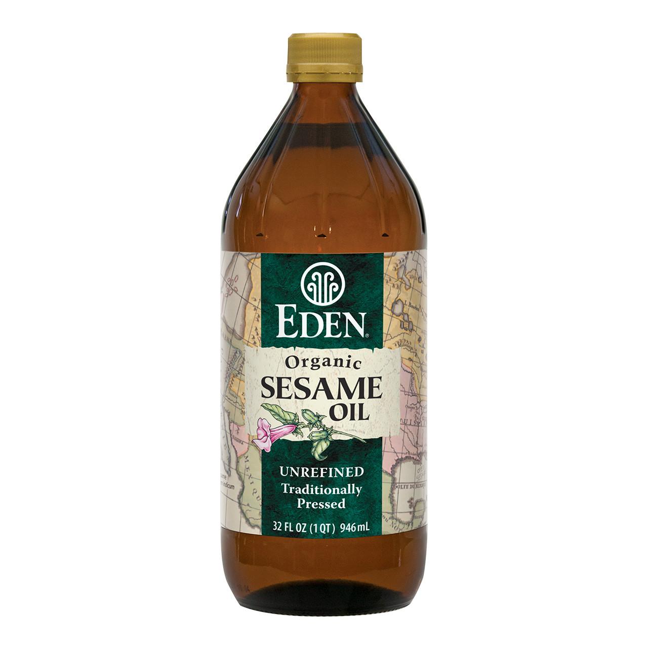 Sesame Oil - Extra Virgin, Organic - 32 fl oz
