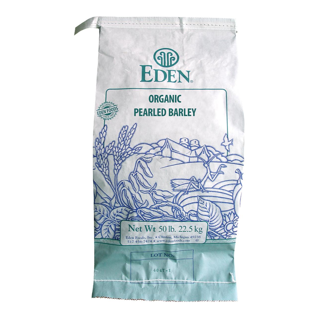 Pearled Barley, Organic - 50 lb