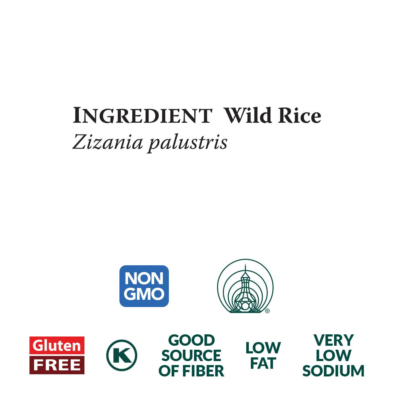 Wild Rice, 100% Whole Grain - 7 oz