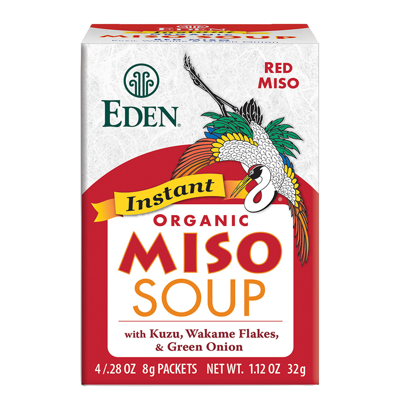 Instant Red Miso Soup, Organic