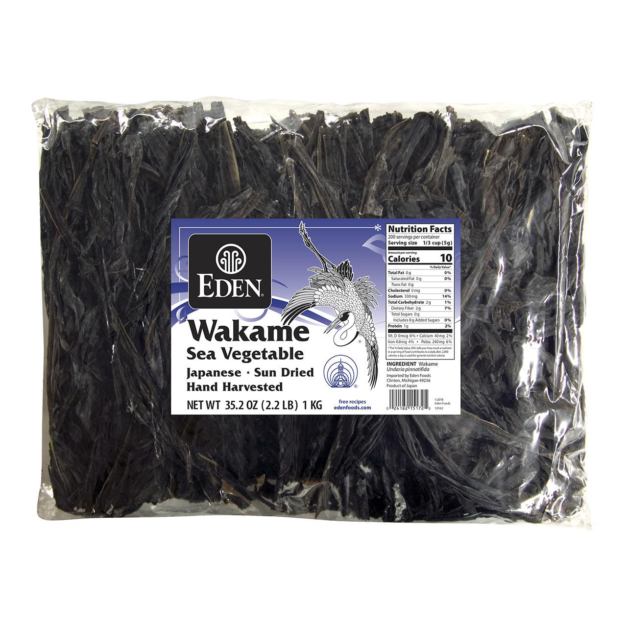 Wakame, Sea Vegetable - 2.2 lb