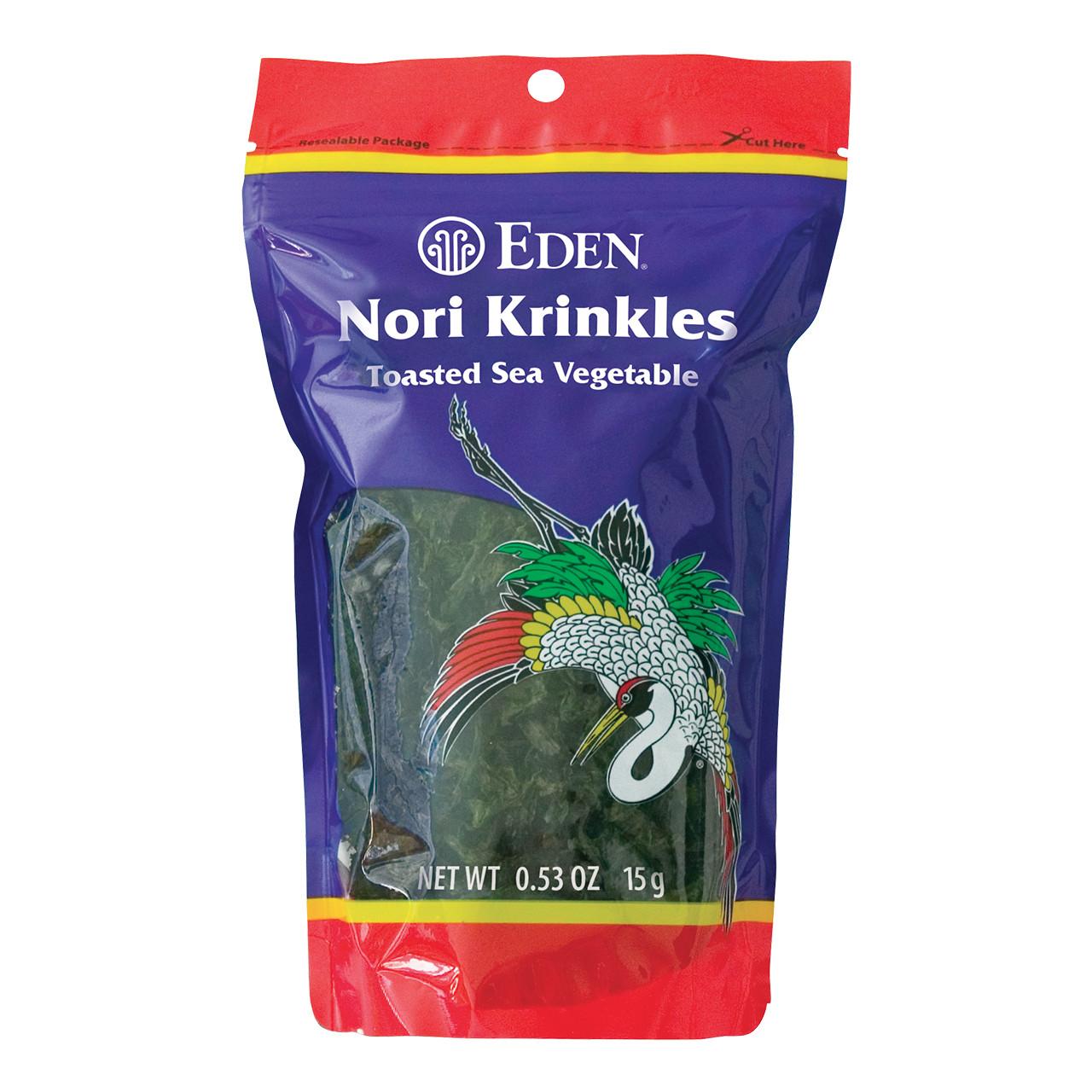 Nori Krinkles, Sea Vegetable