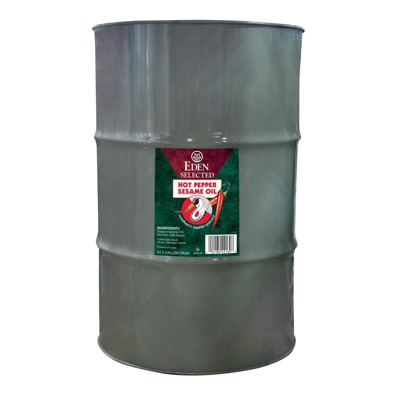 Hot Pepper Sesame Oil - 52.3 gal