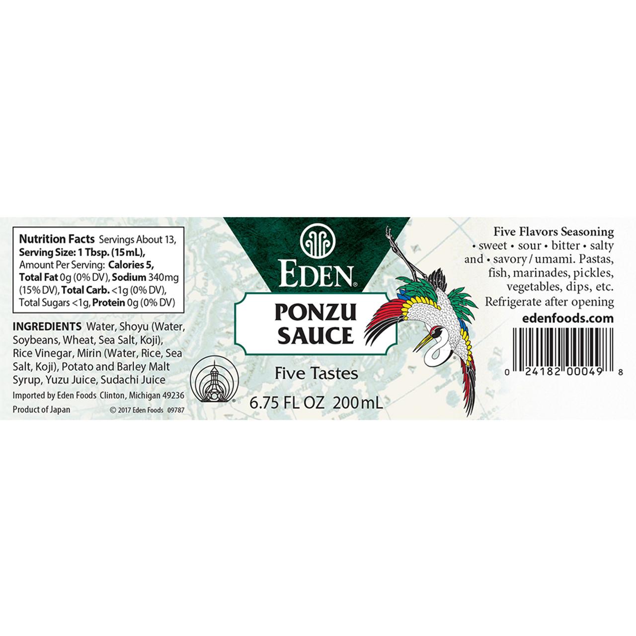 Ponzu Sauce - five flavor seasoning