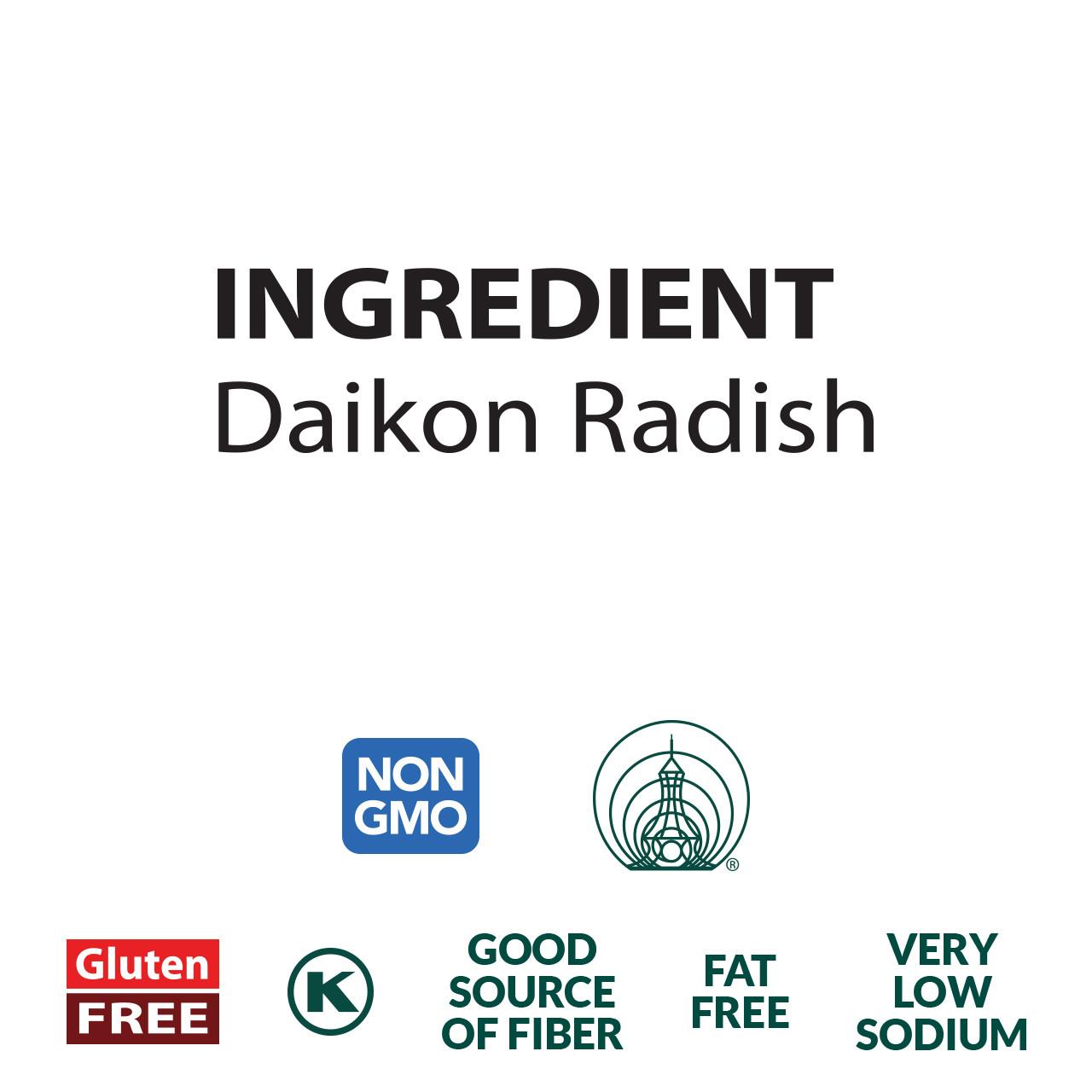 Daikon Radish - Sun Dried and Sliced