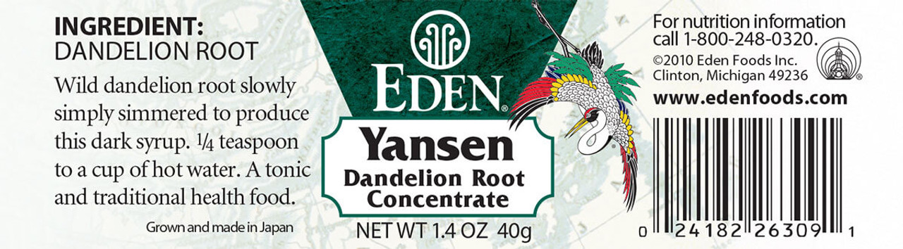 Yansen - dandelion root concentrate