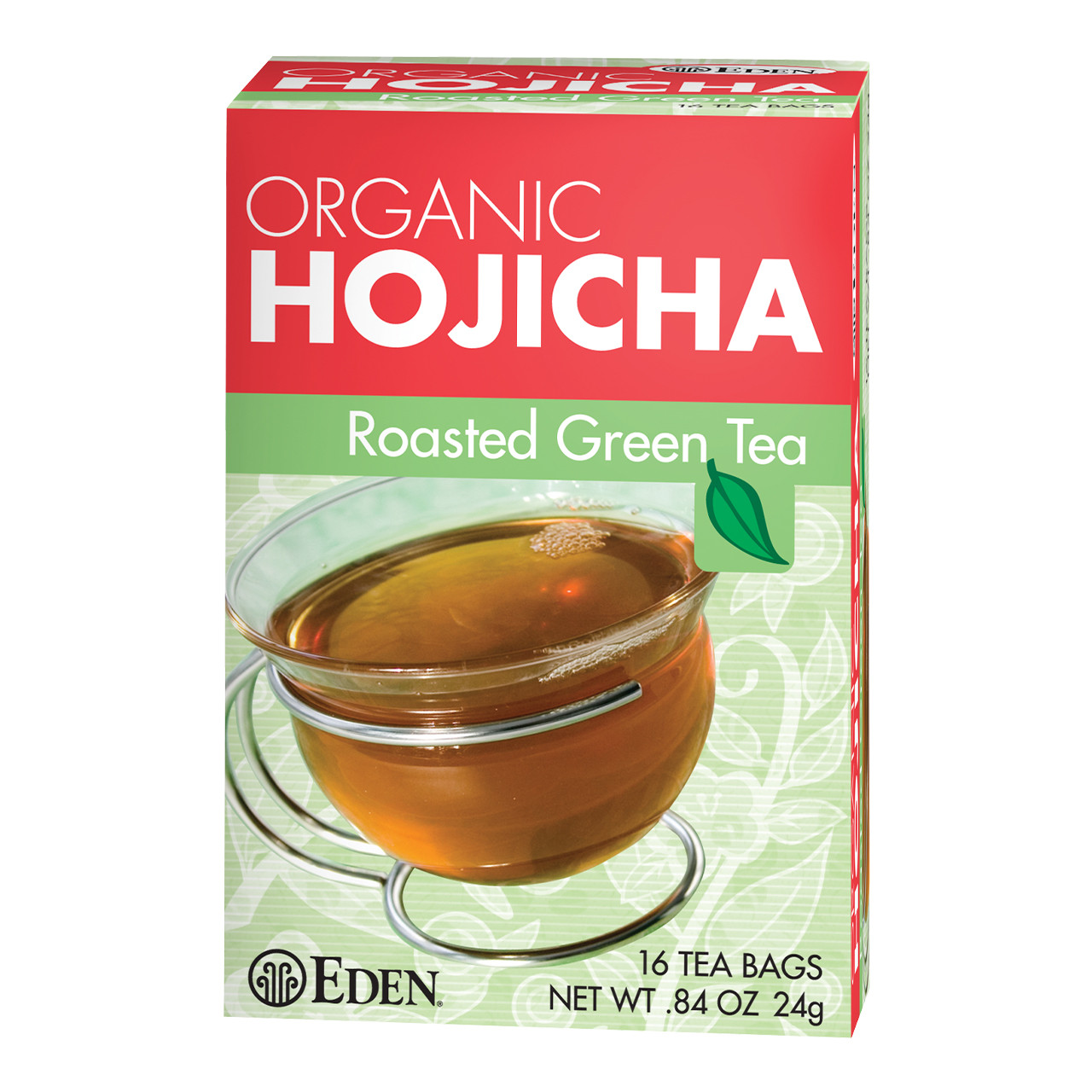 Hojicha Tea, Roasted Green Tea, Organic