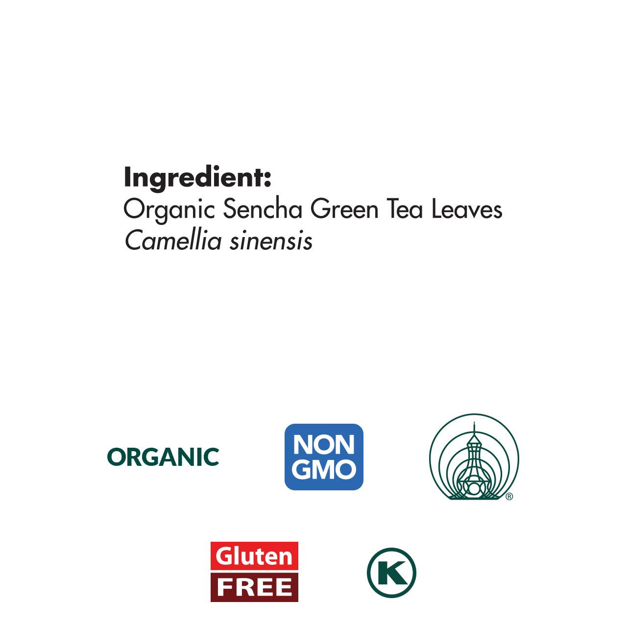 Sencha Green Tea, Organic