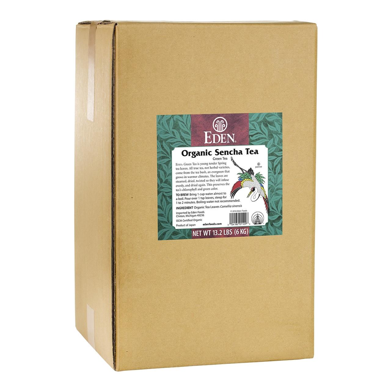 Sencha Green Tea, Organic, Loose - 13.2 lb