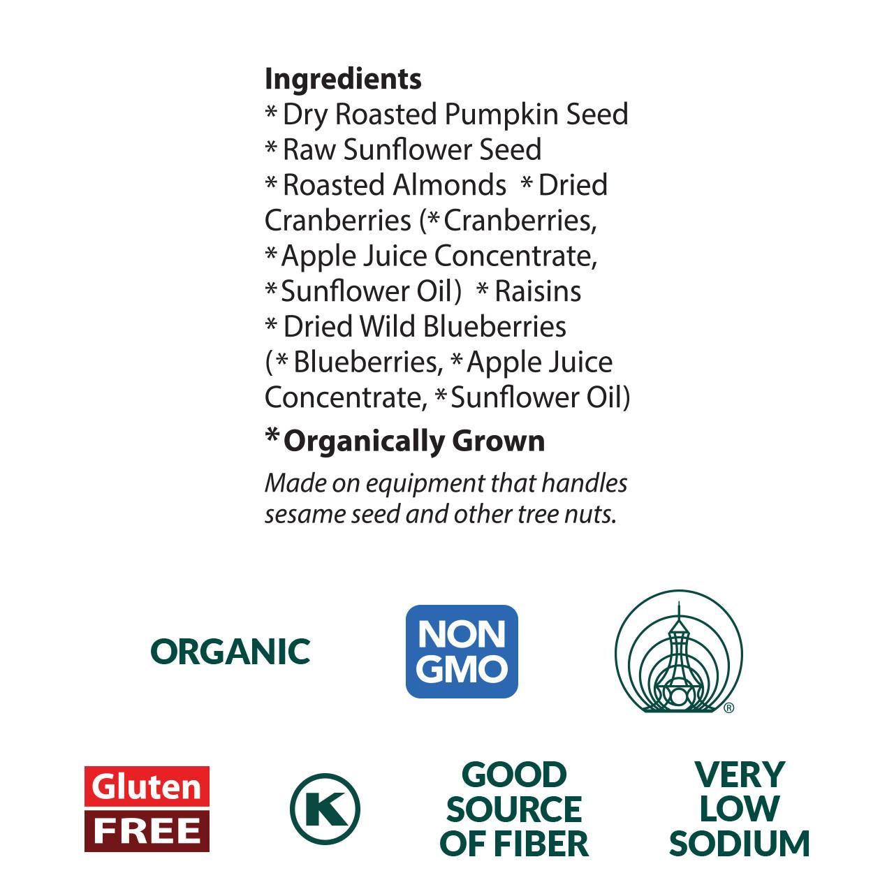 Wild Berry Mix, Organic Pocket Snacks - 1 oz