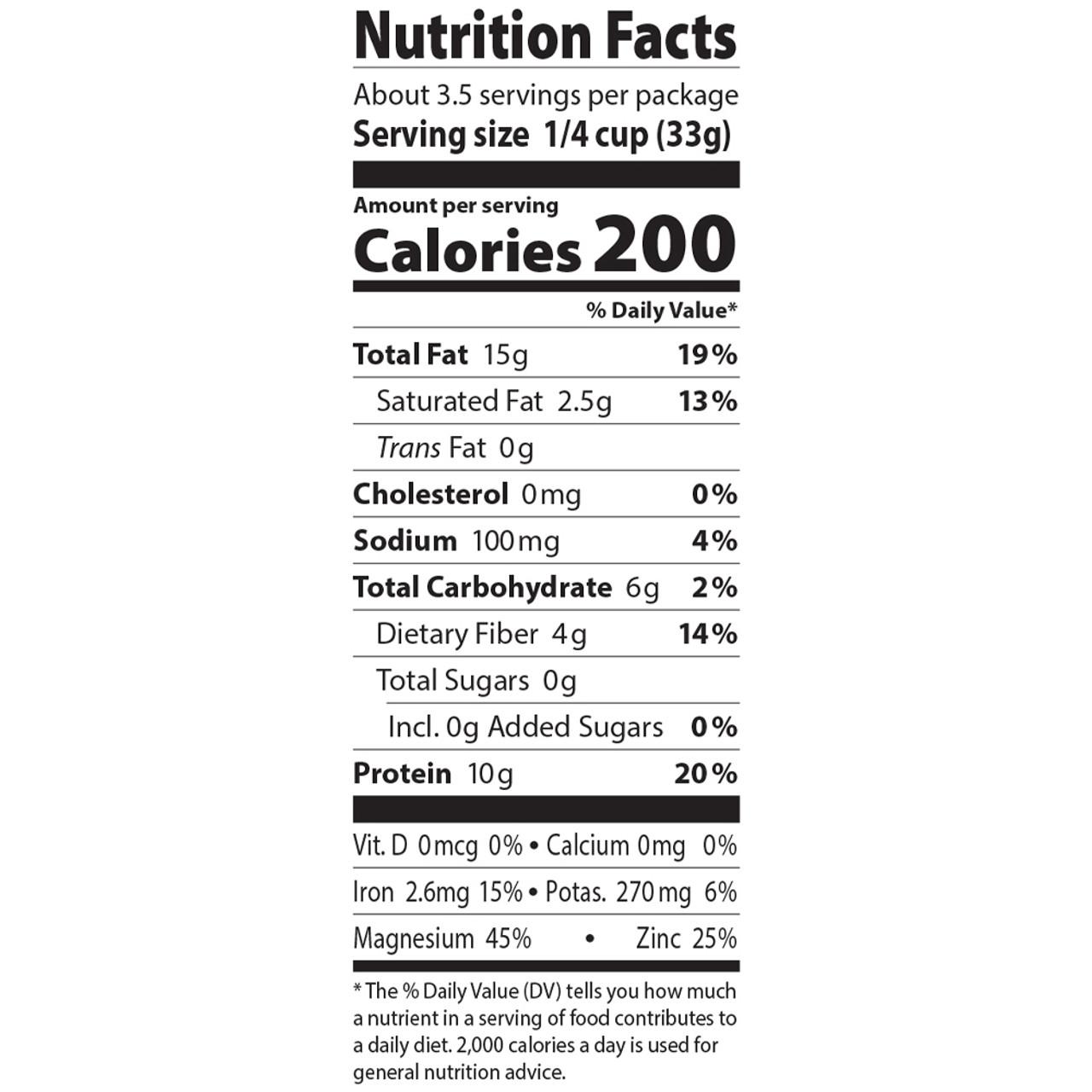 Pumpkin Seeds, Organic - 4 oz