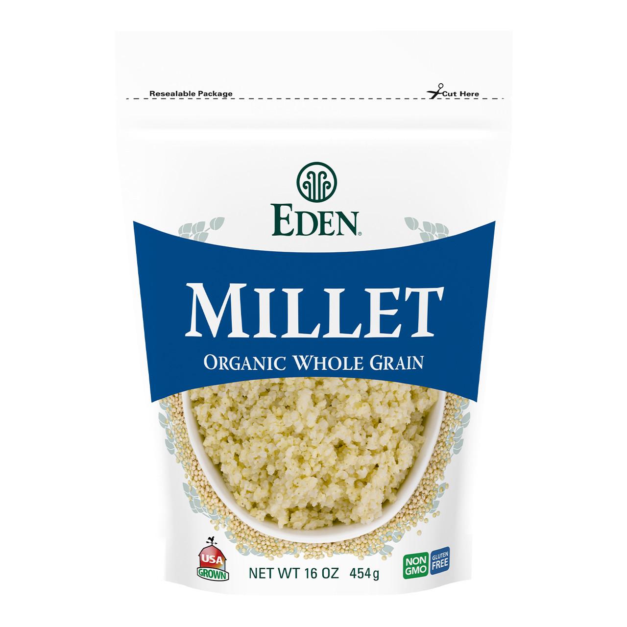 Millet, Organic - 16 oz