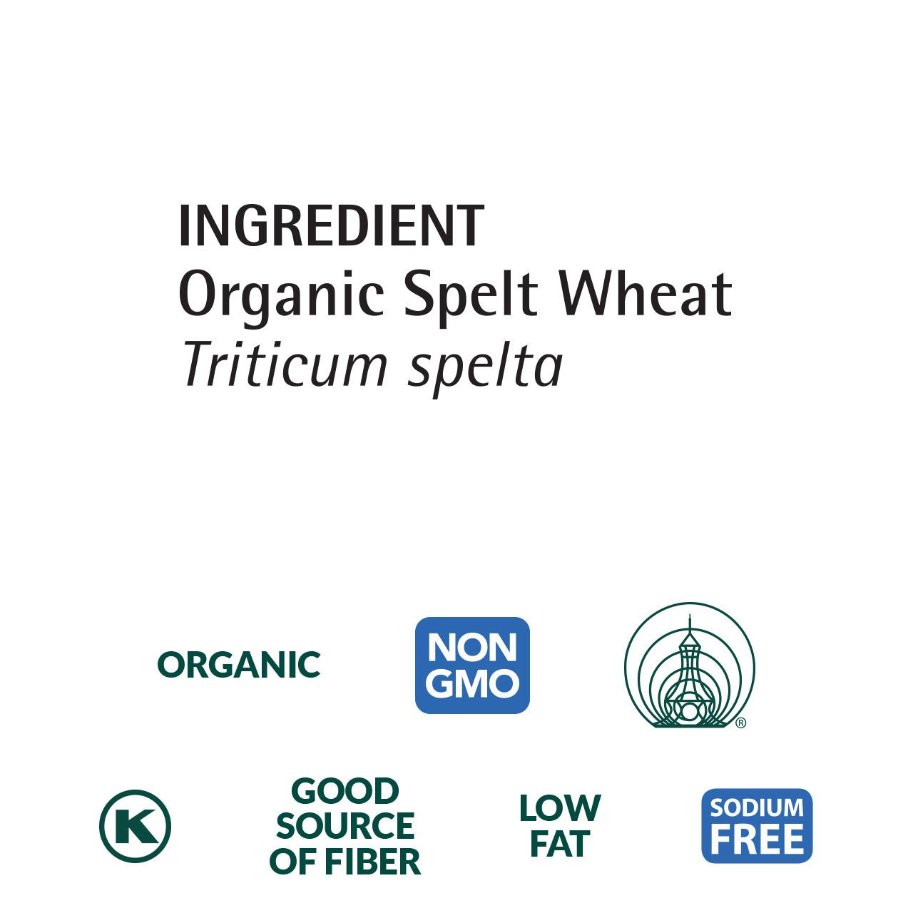 Spelt Flakes, Organic