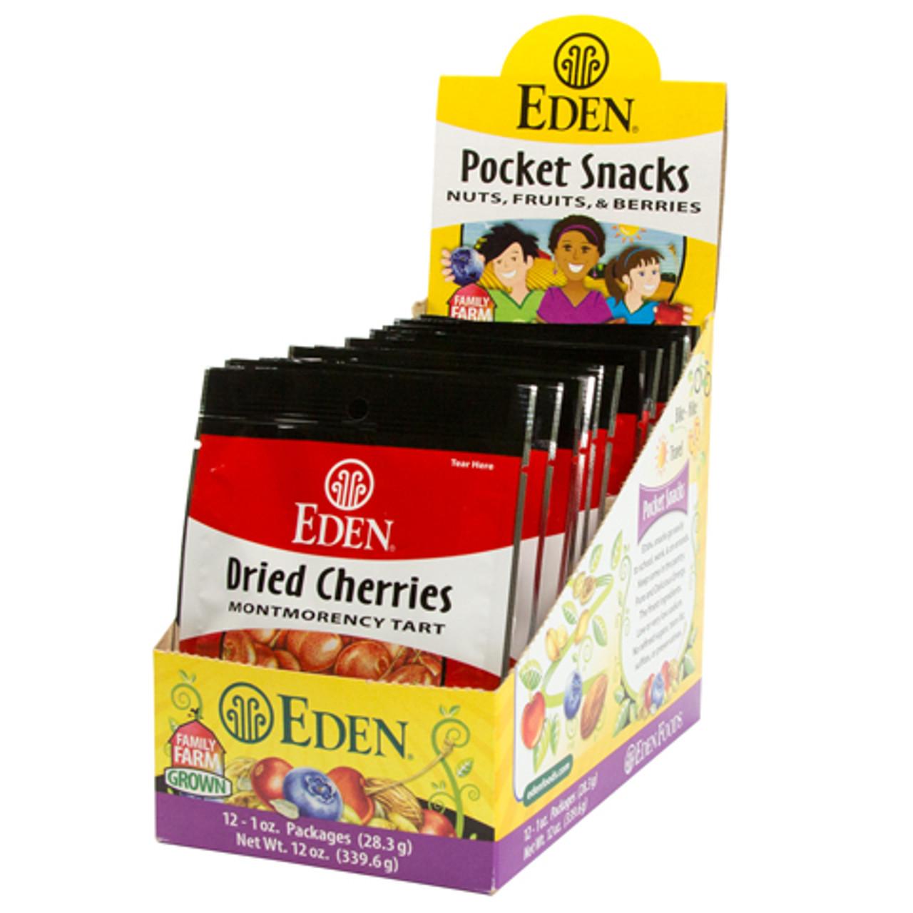 Dried Montmorency Cherries Pocket Snacks - 12 pack