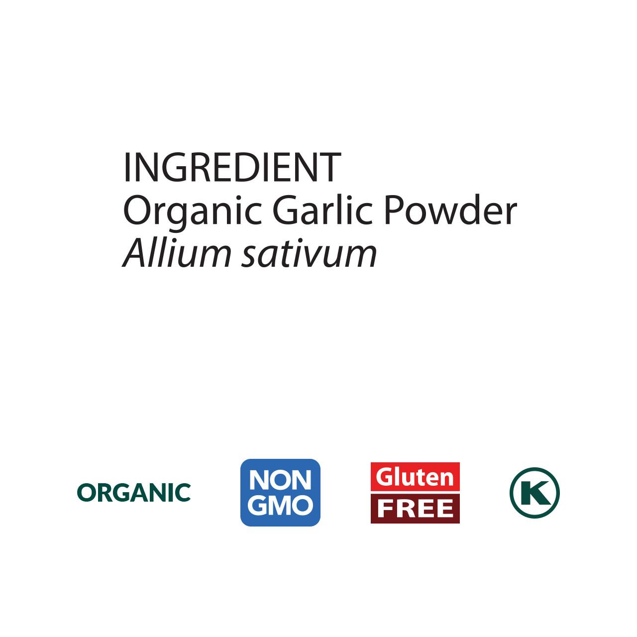 Garlic Powder, Organic
