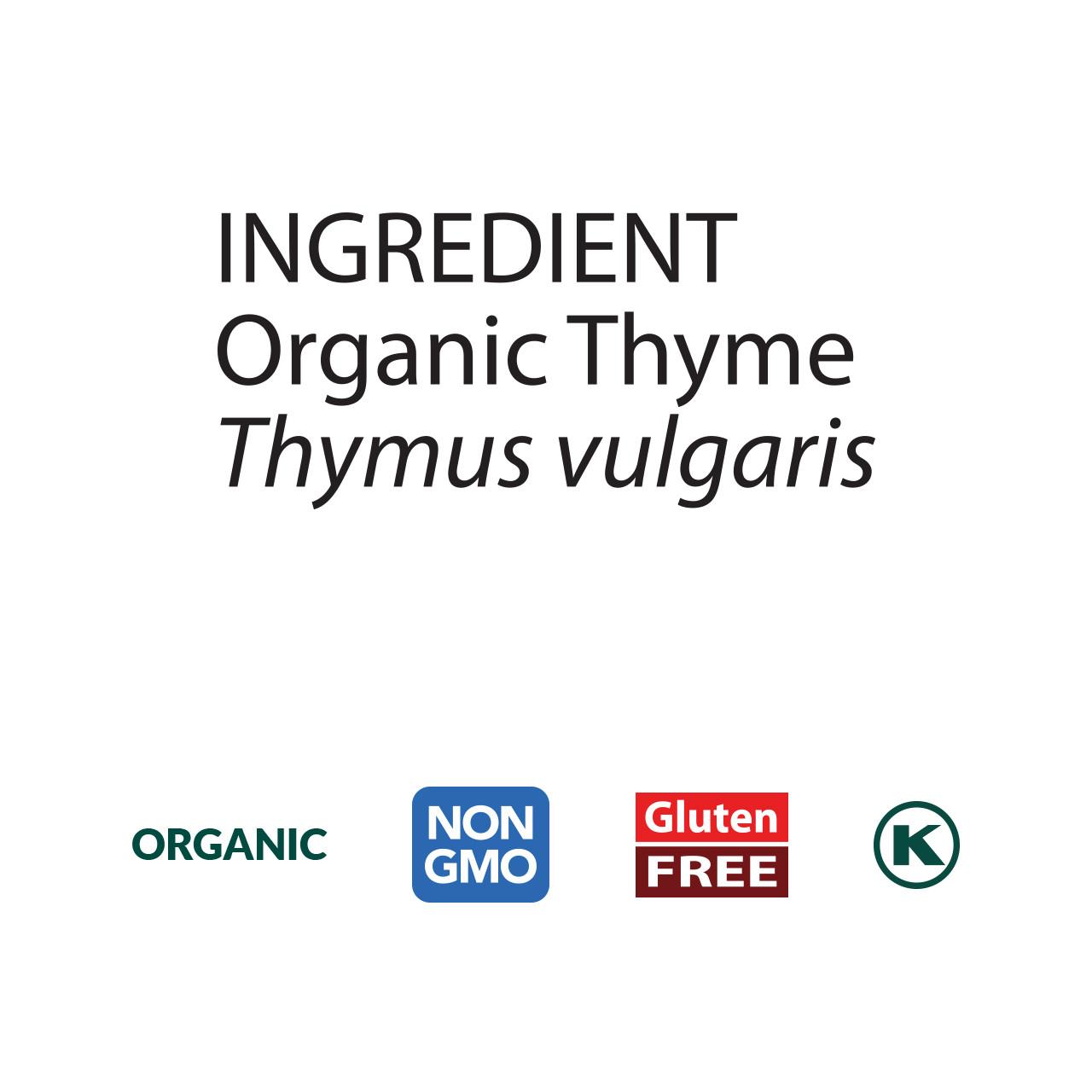 Thyme, Organic