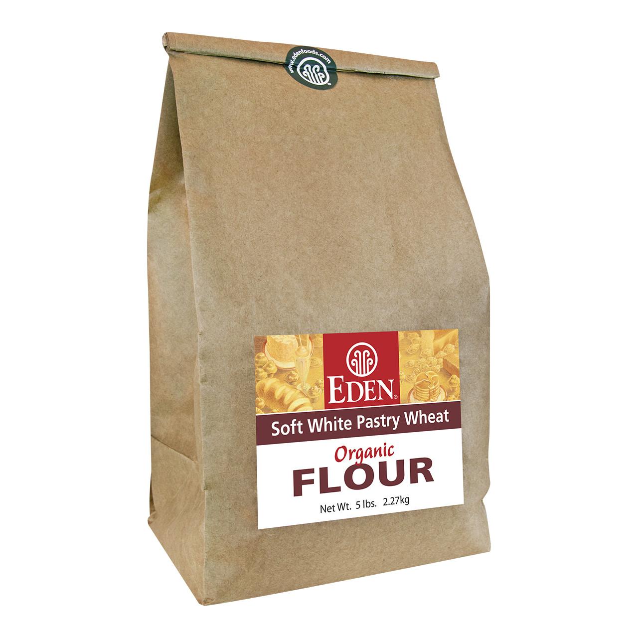Soft White Pastry Wheat Flour, Organic - 5 lb