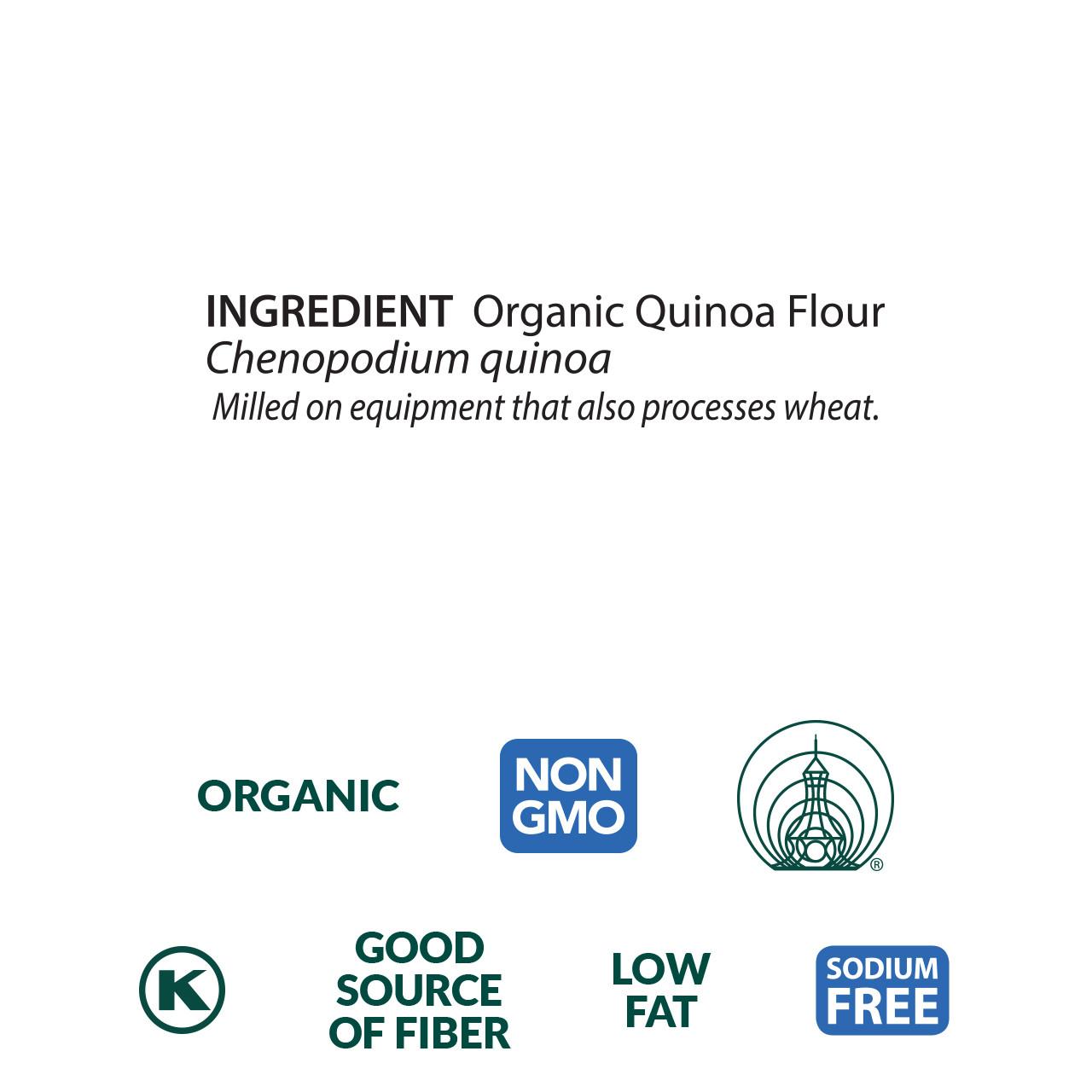Quinoa Flour, Organic - 5 lb