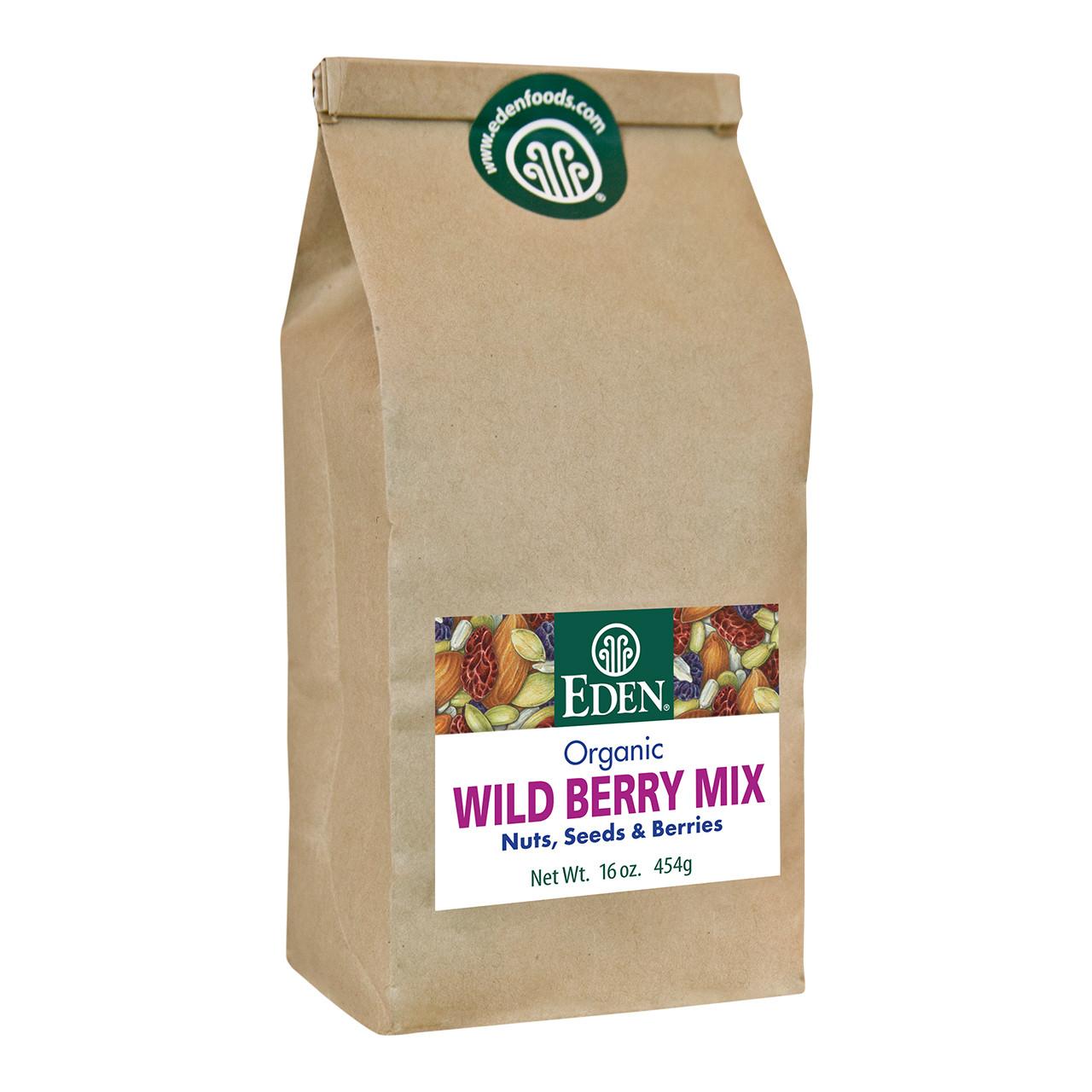 Wild Berry Mix, Organic - 1 lb