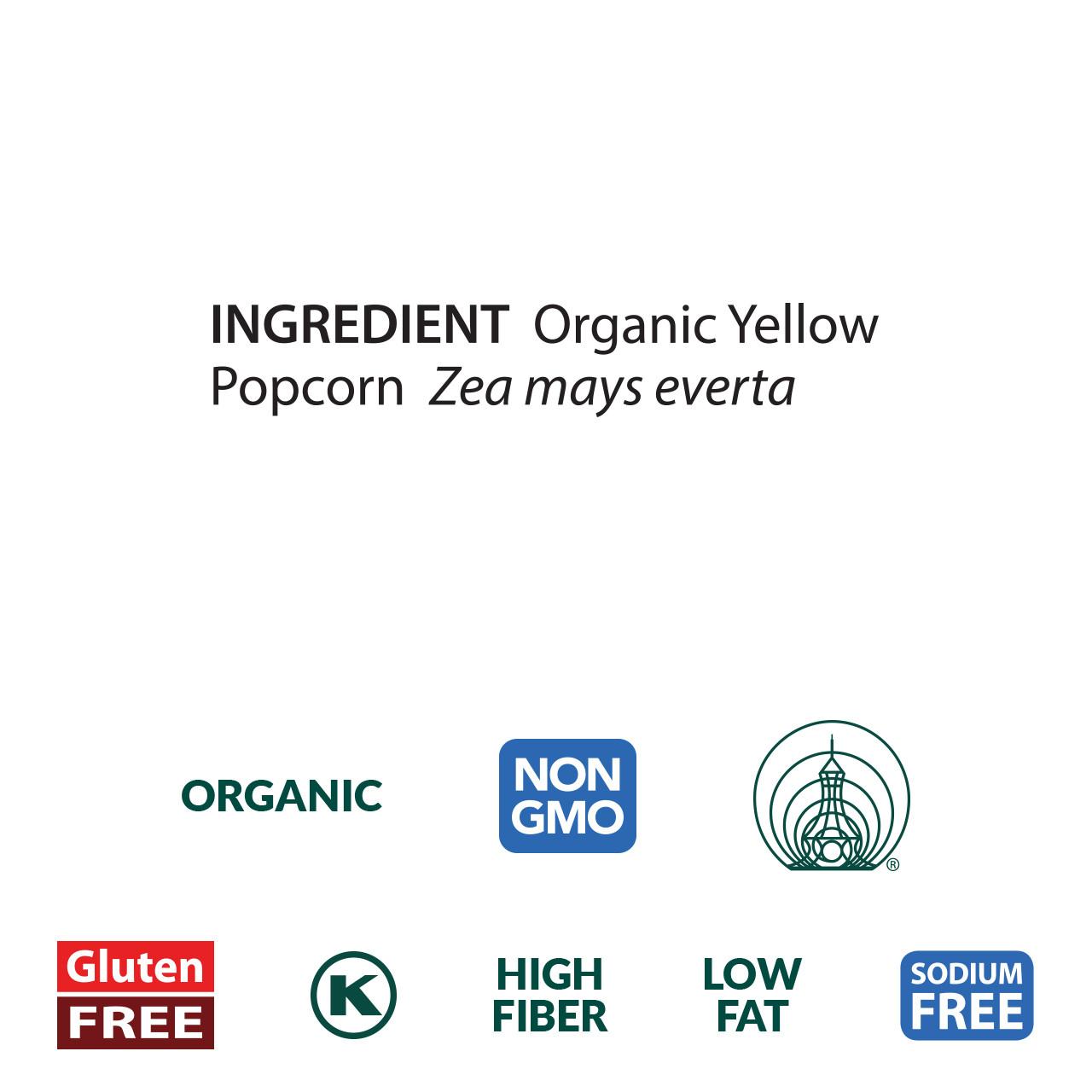 Popcorn, Organic - 5 lb