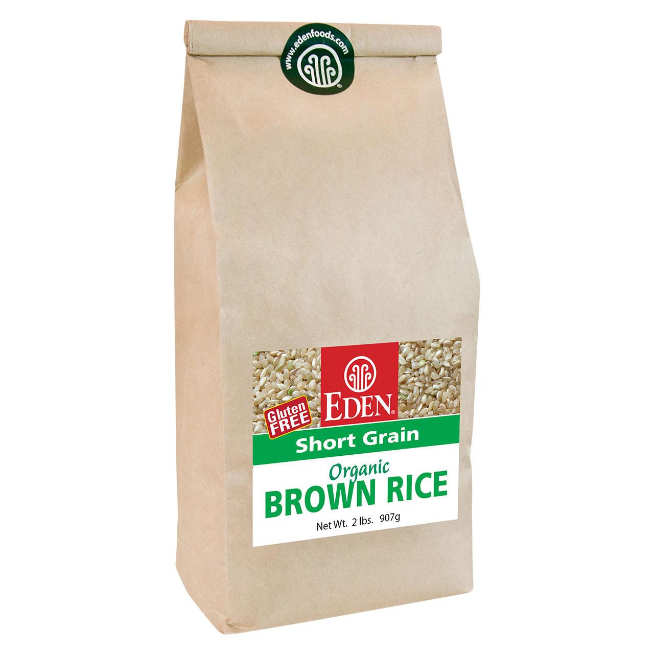 Short Grain Brown Rice, Organic - 2 lb