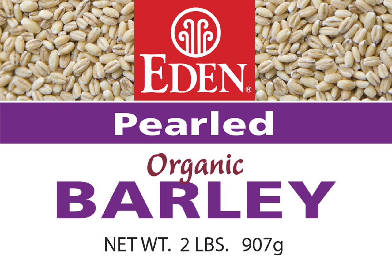 Pearled Barley, Organic - 2 lb