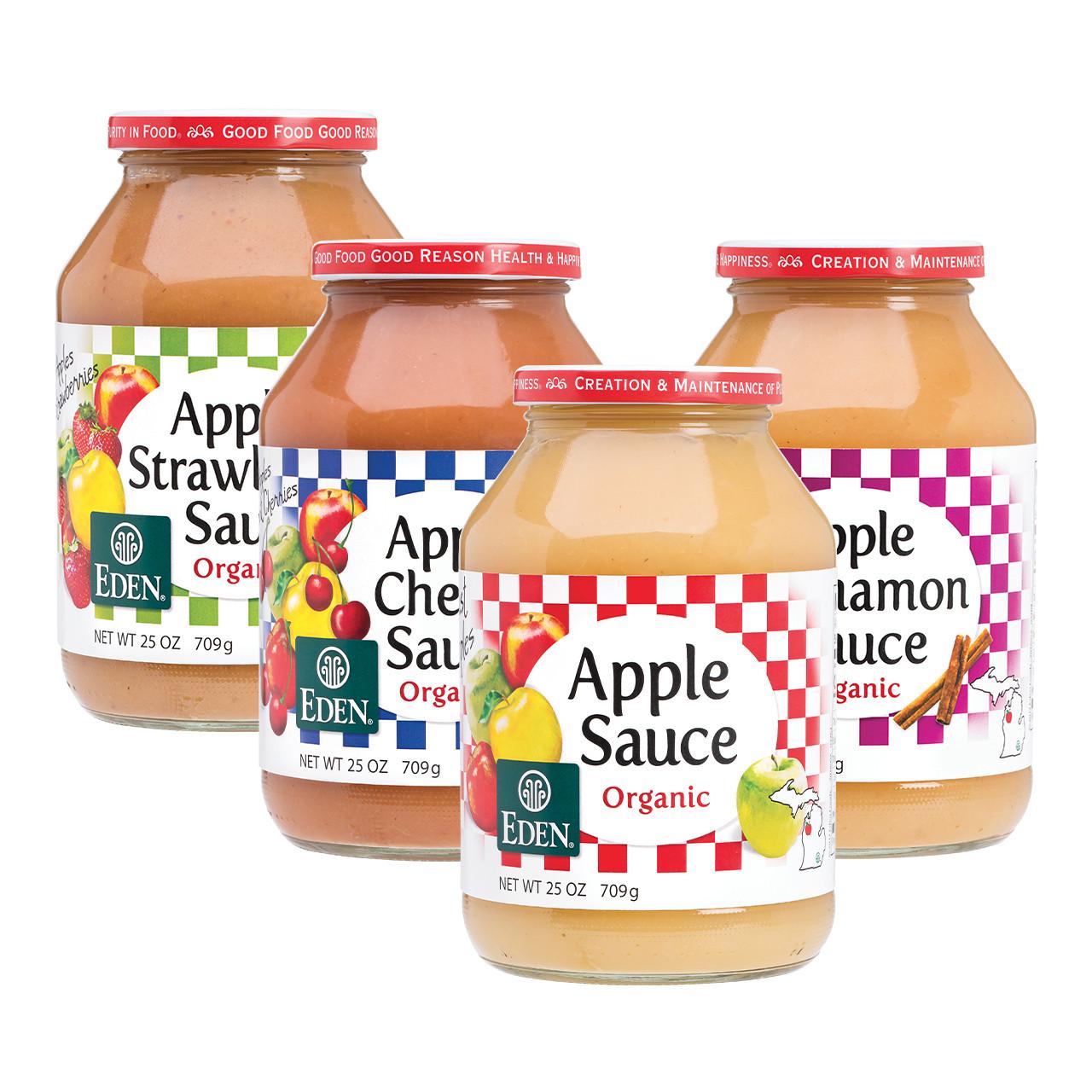 Apple Sauce Sampler, Organic
